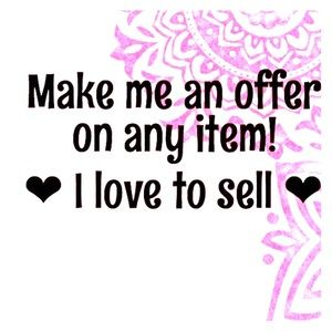 Love the item but not the price? Make me an offer